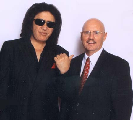Gene Simmons and Michael Baum