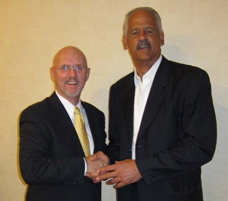 Michael Baum and Stedman Graham