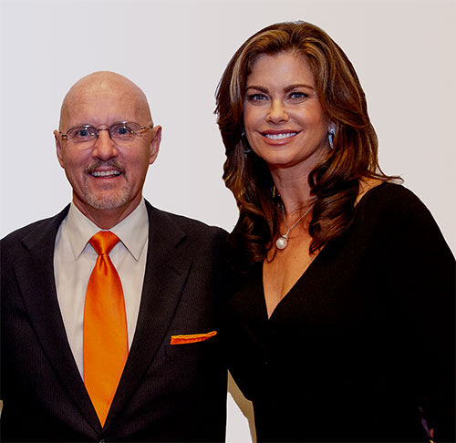 Michael Baum and Kathy Ireland