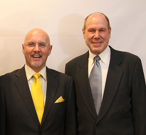 Michael Baum and Michael Eisner